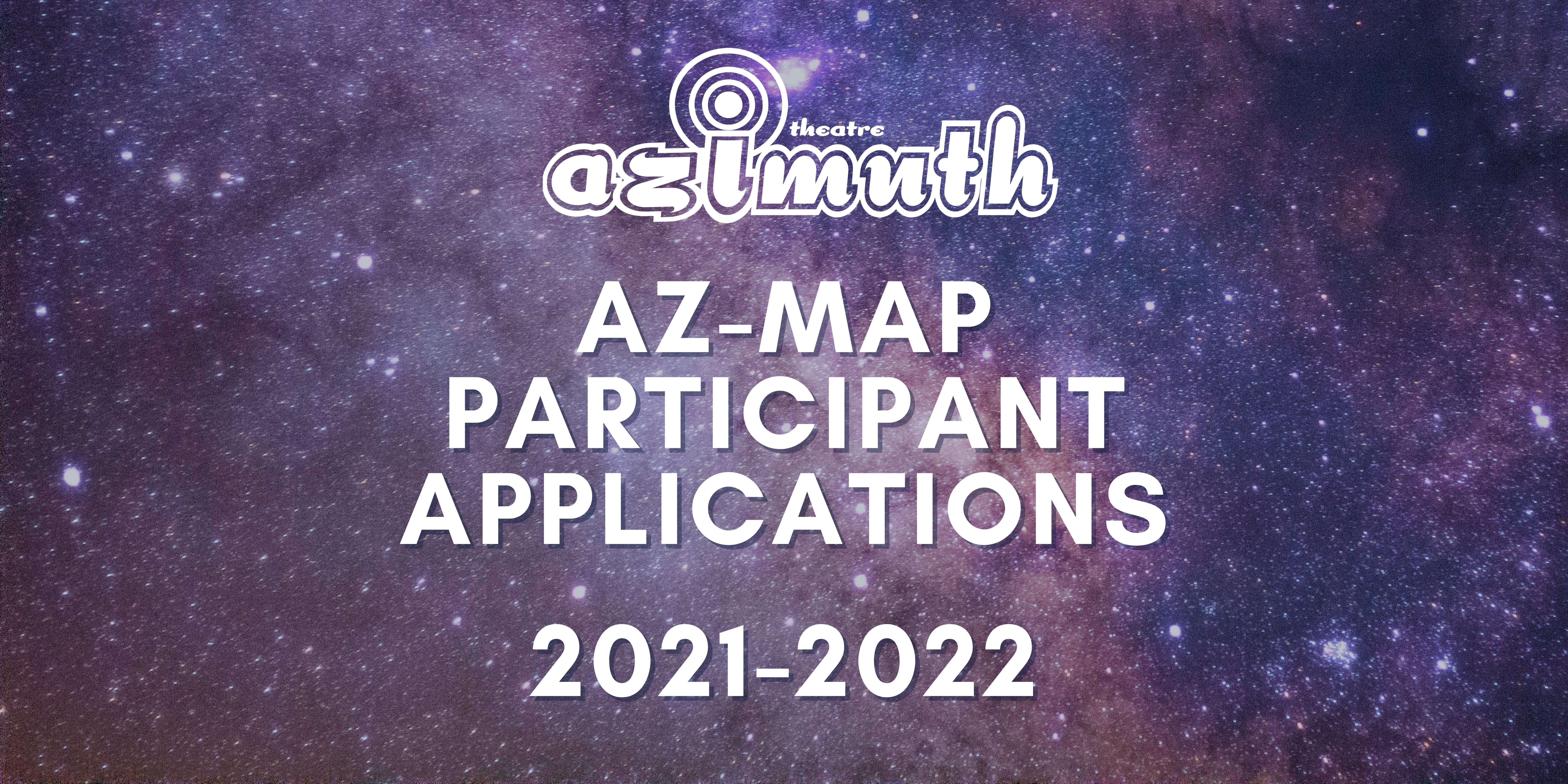 AZ-Map Participant Application